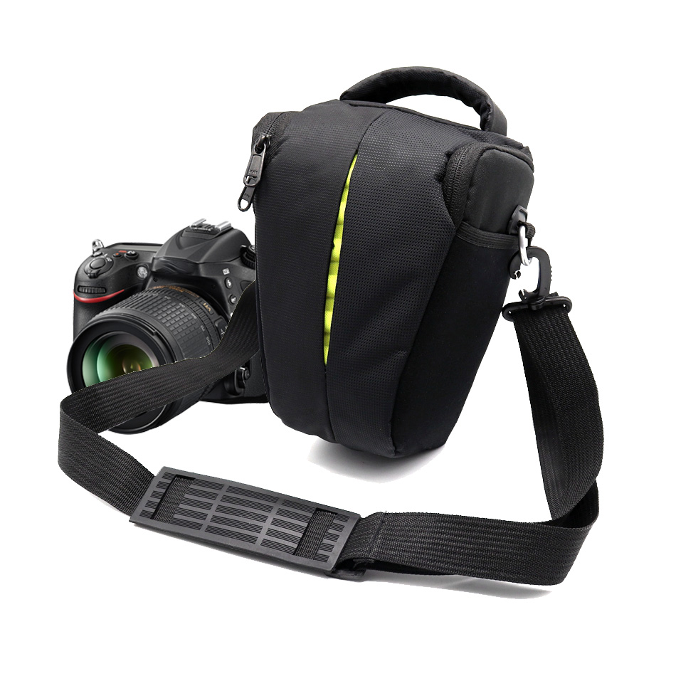 Triangle Camera Case Shoulder Bag for <font><b>Sony</b></font> Alpha A100 A200 A220 <font><b>A230</b></font> A290 A300 A330 A390 A450 A500 A560 A580 A700 A850 a9 Camera image