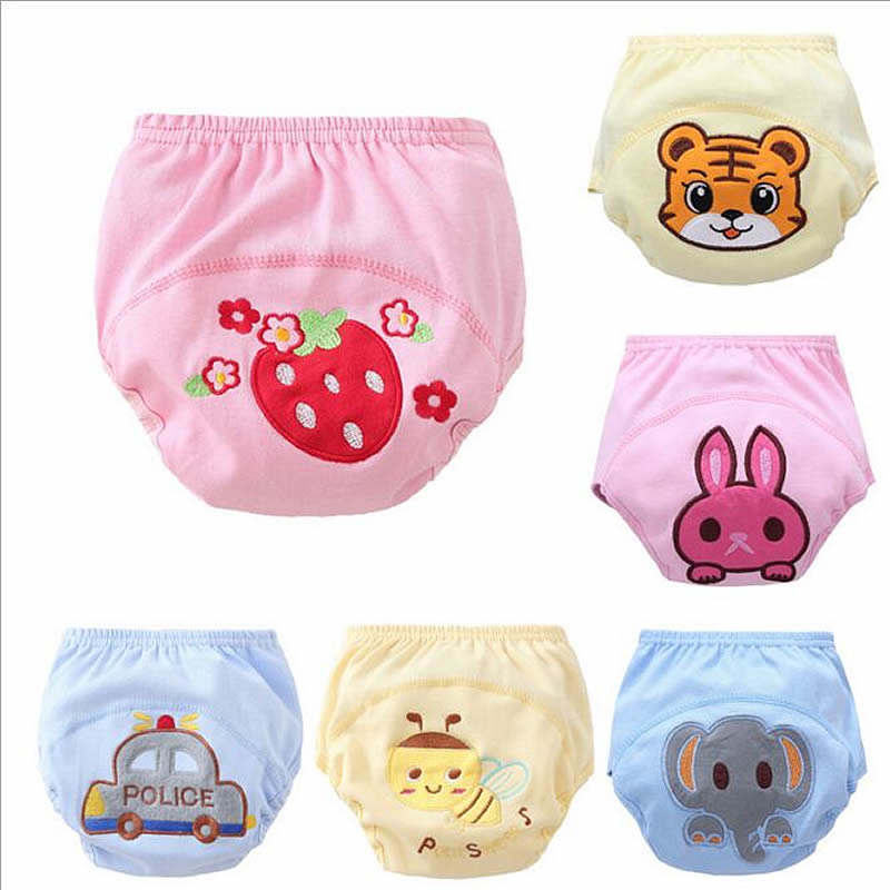 Baby Nappies Adjustable Cloth Diaper Unisex Reusable Newborn Nappies Pocket Cloth Diaper Soft Breathable Potty Training Pants