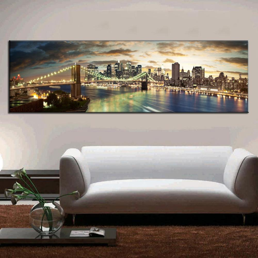 Buy modern landscape painting the for Living room west 6 brooklyn