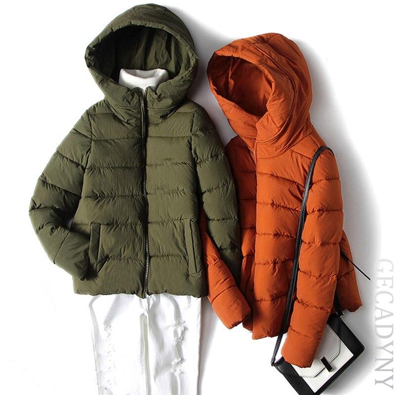 Winter Women's Jackets and Coats Fashionable Short Women Jacket European Style Female Thick Warm Parkas 2017 New Overcoat M-3XL