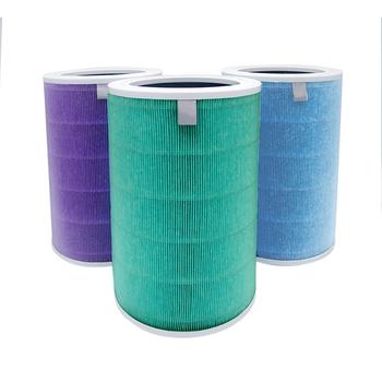 Wymiana filtra powietrza do oczyszczania powietrza Xiaomi 1 2 2S 3 3H Pro generacji dla Mi filtry powietrza z filtrem z węglem aktywnym tanie i dobre opinie Filterhualv CN (pochodzenie) Compatible with xiaomi 1 2 2S pro Oczyszczacz powietrza części Filterhualv Air Filter Blue Green Purple