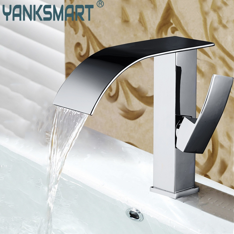 Chrome Brass Bathroom Basin Sink Faucet Brand New Single Handle Basin Vessel Single Hole Sink Mixer Tap Counter Basin Faucet black oil rubbed brass single handle bathroom vessel sink basin mixer tap faucet cnf227