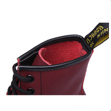 Genuine leather Women Rubber Boots Women Winter Shoes Botas Feminina Female Motorcycle Ankle Fashion Boots For Women