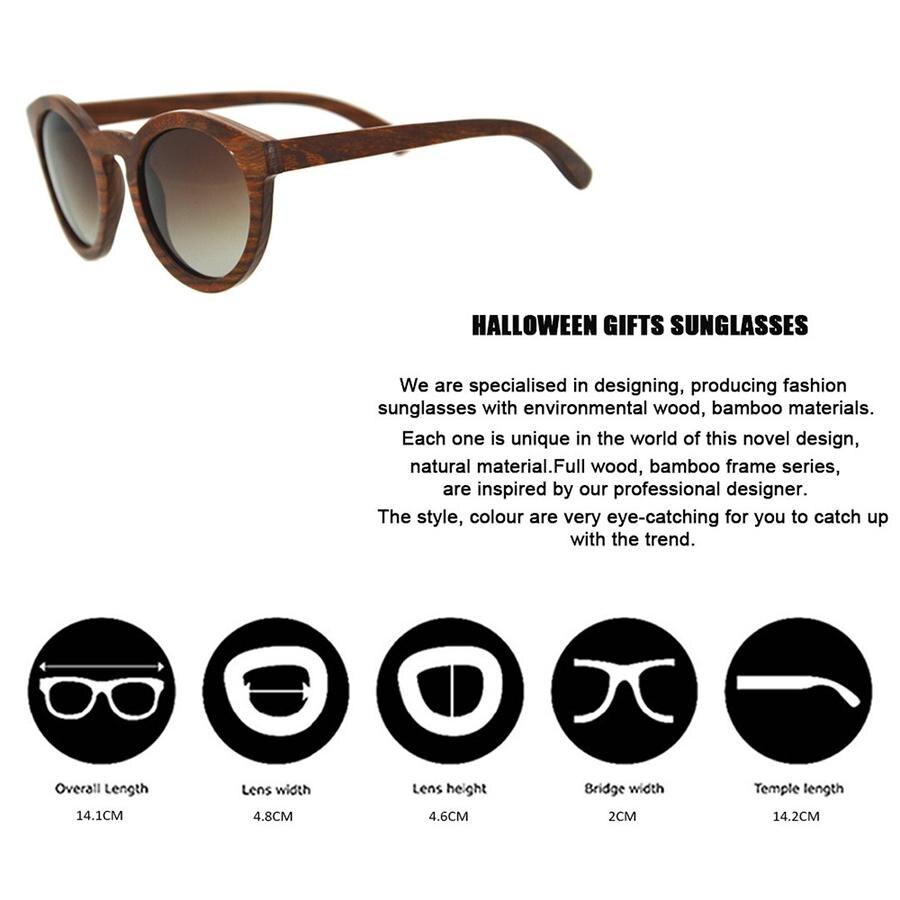 sun glasses wooden