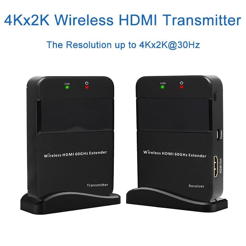 Беспроводной передачи видео и аудио 3D Беспроводной HDMI удлинитель 30 м/98ft HDMI1.4v Full HD 1080 P HDMI Отправитель передатчик приемник