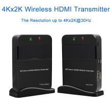 Wireless Video Audio Transmission 3D Wireless HDMI Extender 30m 98ft HDMI1 4v Full HD 1080P HDMI
