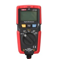 Digital Multimeter UNIT DC/AC Voltage Current Meter Handheld Ammeter Ohm Diode NCV Tester 3999 Counts Multitester No Contact