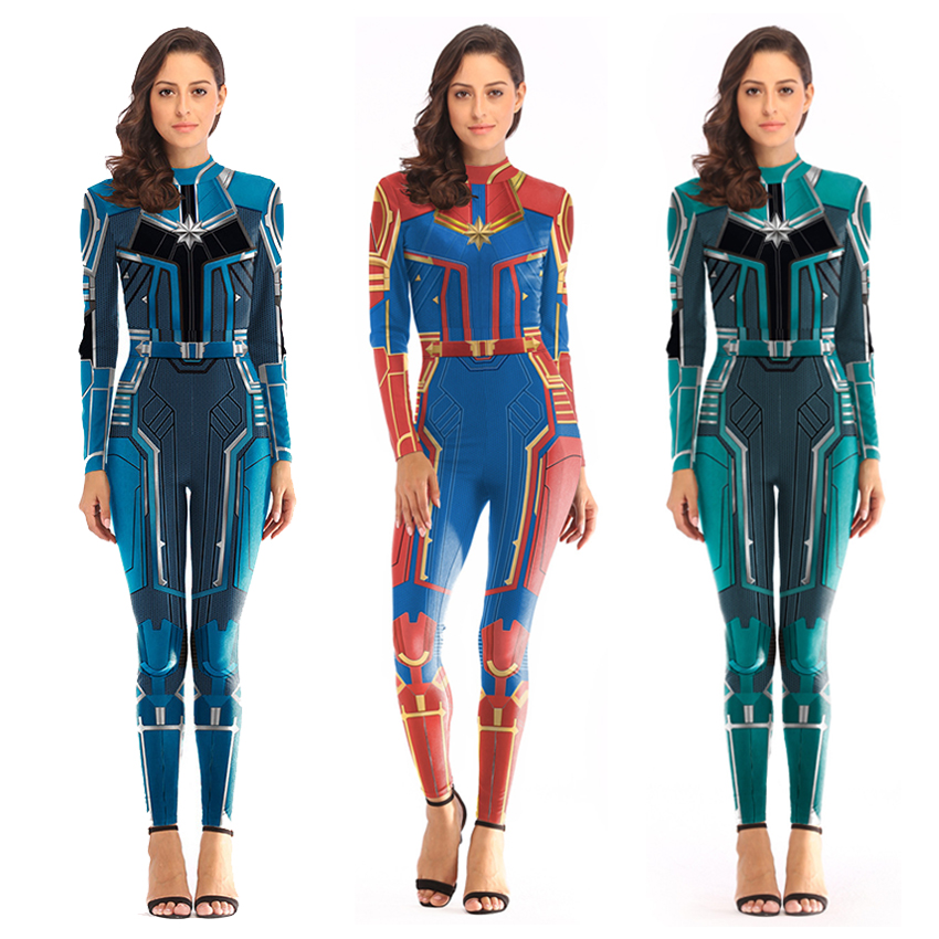 Women Captain Marvel Costumes Halloween Costume For Women Shop Avenue Store Men Women Collections Shopavenue Store This red and navy collarless jacket features a metallic gold design based on her captain marvel costume. women captain marvel costumes halloween costume for women