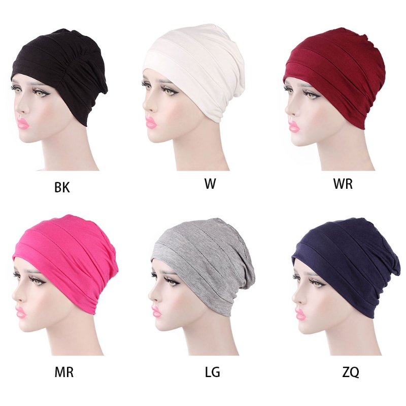 2018 New Cotton Unisex Cap For Cancer Hair Loss Sleeping Cap Chemotherapy Hat