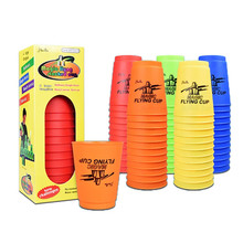 12pcs/Set Sport Speed Cups Game Rapid Flying Stacking Christmas Gift Hand Sports Special Shape Toys for Children