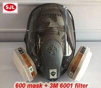 Gas Masker 7 Pakken, chemische Organische Gassen En Dampen Masker Filter respirator Verf Mengen/Spray Graffiti, Bouw, Renovatie