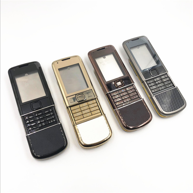 RTBESTOYZ Rear 8800A full housing for Nokia 8800 Arte 8800a Front Middle Frame Battery Back Cover Case for Nokia 8800A