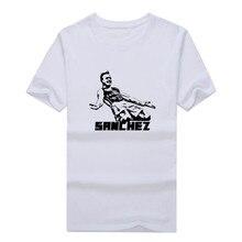 2017 T shirt Alexis Sanchez Thigh MADE IN CHILE Short Sleeve 100 Cotton T SHIRT Men