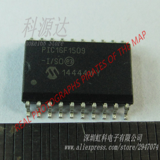 PIC16F1509 PIC16F1509 I/SO MCU 8 bit PIC16 PIC RISC 14KB Flash 3 3V/5V  Automotive 20 Pin SOIC in stock -in Replacement Parts & Accessories from