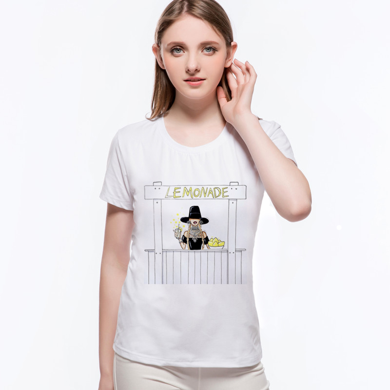 Top weibliche T-Shirt Trend Sommer Style Print Lustige sexy Tops Mode - Damenbekleidung - Foto 3