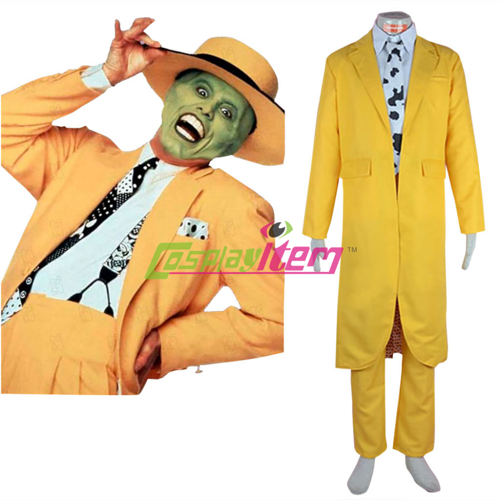 The Mask Costume Stanley Cosplay Suit Outfits Adult Men's ...