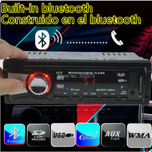 12V Car Stereo FM Radio MP3 Audio Player Bluetooth function Phone with USB SD MMC Car Electronic In-Dash 1 DIN size bluetooth