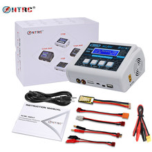 Hot Koop HTRC C150 Lipo Lader Batterij Rc AC/DC 150W 10A RC Balance Ontlader voor LiPo LiHV leven Lilon NiCd NiMh Pb Batterij(China)