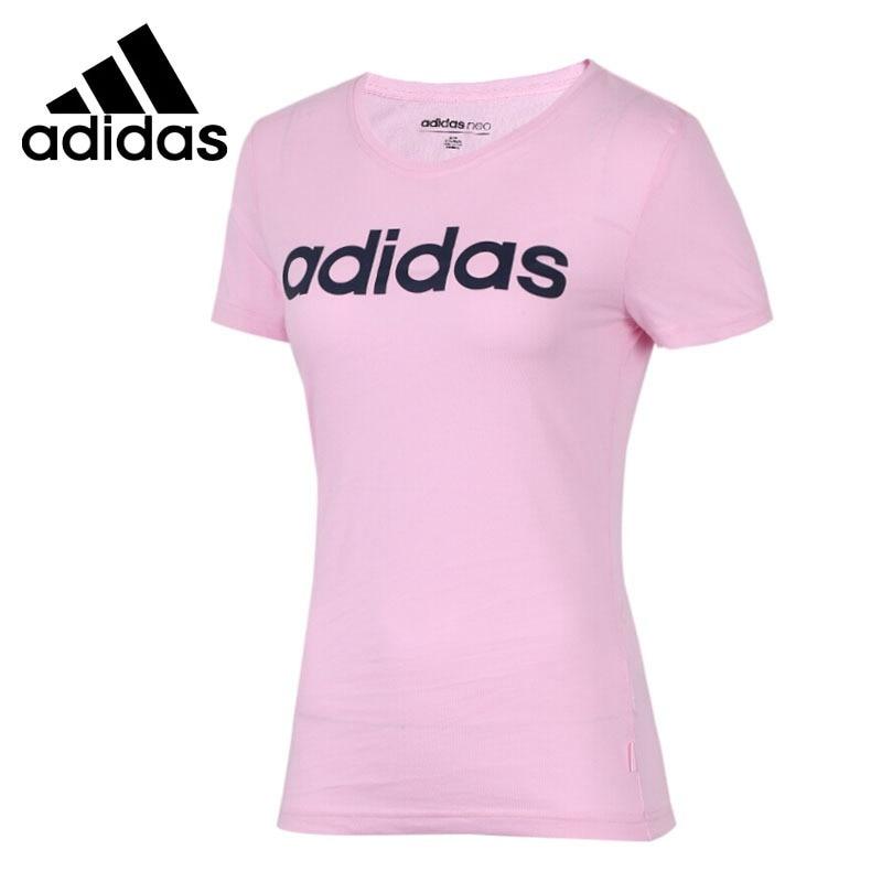 Original New Arrival 2018 Adidas NEO Label CE LOGO TEE Women's T-shirts short sleeve Sportswear original new arrival 2018 adidas neo label w cs plts tee women s t shirts short sleeve sportswear