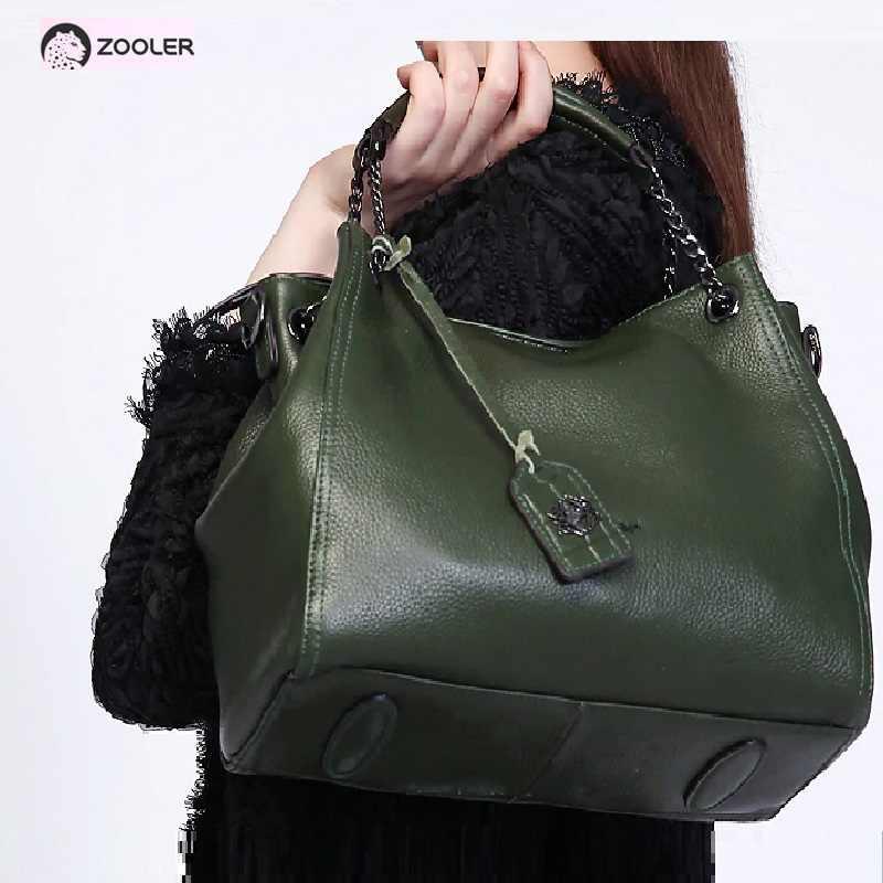 c1da2f6046f5 2019 ZOOLER genuine leather bags women handbags large tote women ...