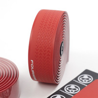 Fouriers Silicone Bike Tape Bicycle Drop Handlebar Wraps Bend Fixed Gear Road Bike Handle Bar Tapes Belt