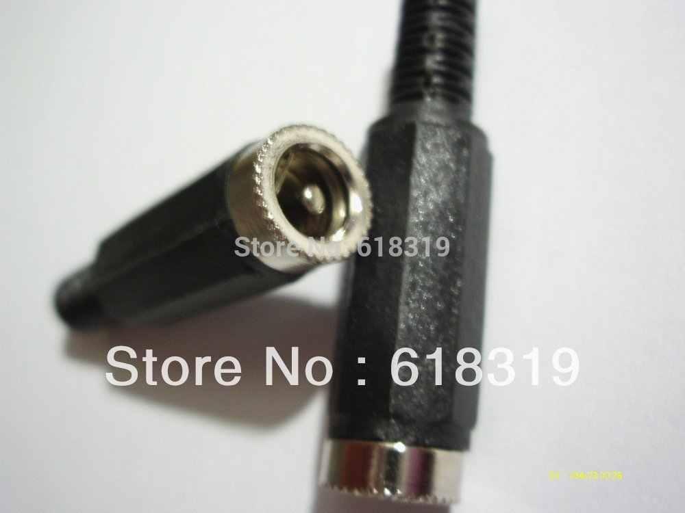500 pièces 5.5x2.1mm DC câble d'alimentation femelle prise de connexion DC puissance noire par Singapore post