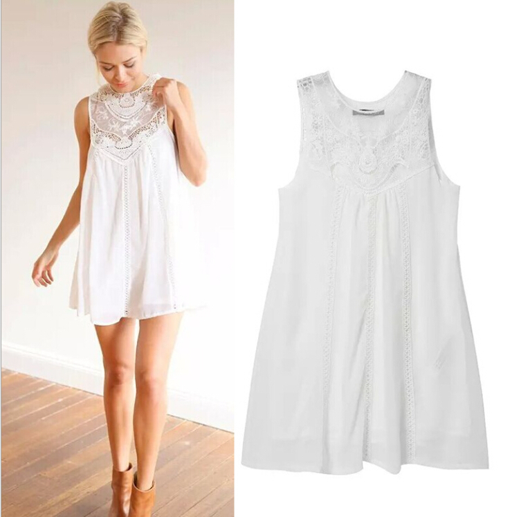 Popular White Flowy Dresses-Buy Cheap White Flowy Dresses lots ...
