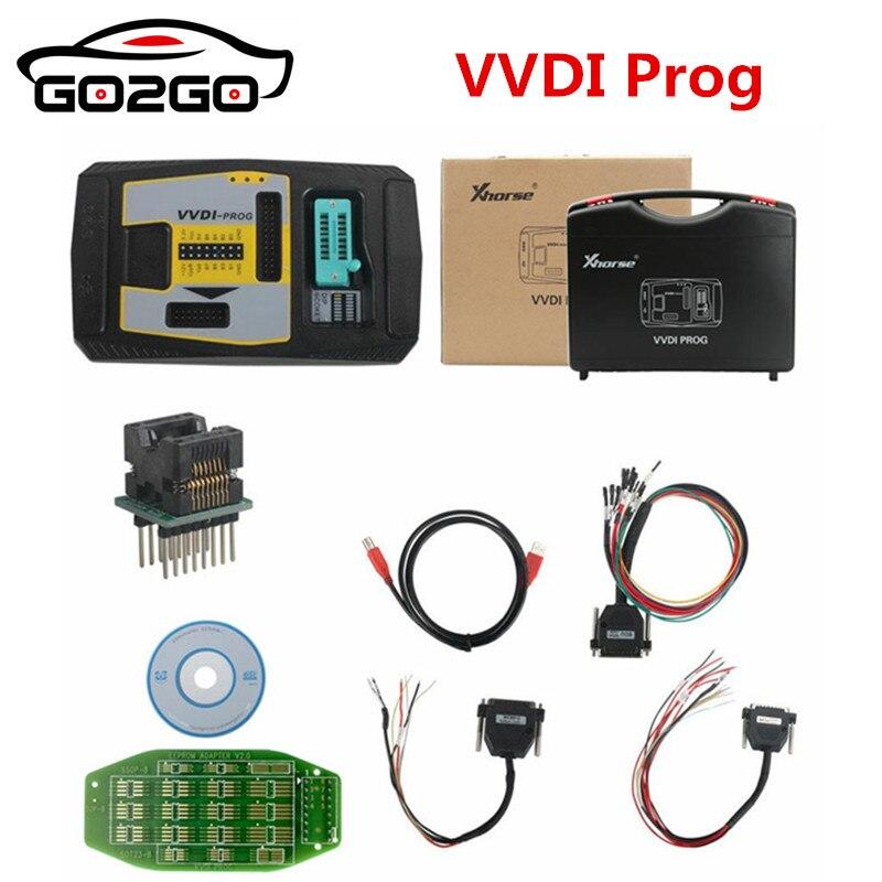 Vente chaude 100% D'origine XHORSE Origine Xhorse VVDI PROG Programmeur V4.7.1 VVDIPROG Auto Diangnostic-outil Programme Pour BMW Suppor
