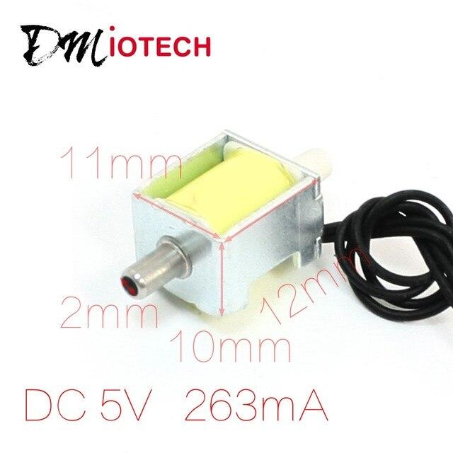 UXCELL 3 ミリメートルに 3 ミリメートルチューブガスバルブ電磁石 5 V 0.4-0.5Kgf/Cm2 することができ使用されるバルブとポンプ電子部品