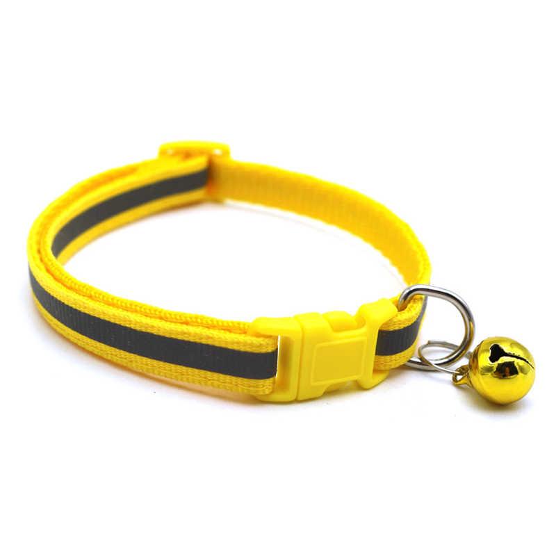 12 sztuk regulowane 1.0 Nylon obroże dla psów dla zwierząt domowych obroże z dzwoneczkami naszyjnik charms kołnierz dla małe psy obroże dla kotów artykuły dla zwierząt