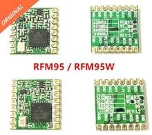 شحن مجاني 10 قطعة RFM95 RFM95W 868Mhz 915Mhz LoRaTM جهاز الإرسال والاستقبال اللاسلكي FCC ROHS ETSI REACH معتمد