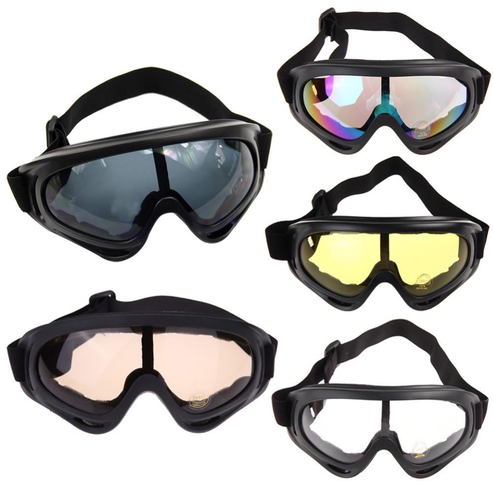 Snowboard Motorcycle Dustproof Sunglasses Ski Goggles UV400 Anti-fog Outdoor Sports Windproof Eyewear Glasses 5 Colors