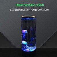 Vivd Jellyfish LED Night Light Colorful Baby Night Lamp Aquarium Decorative LED light for Home Decoration Bedroom Living Room