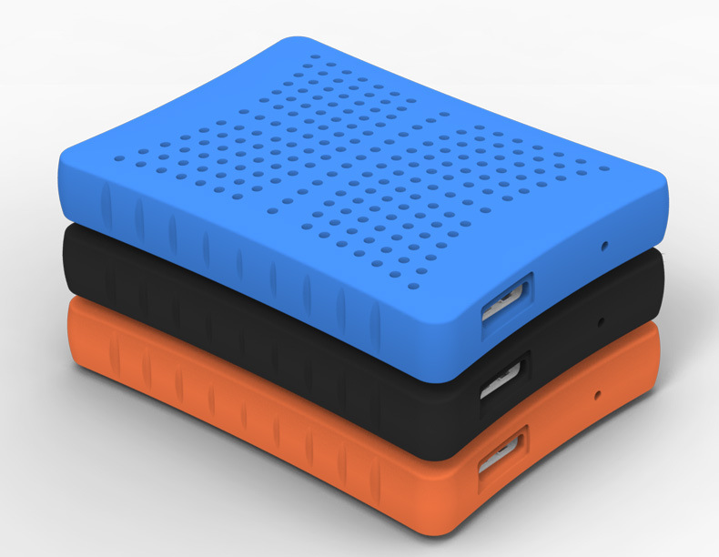 Fashion 2.5 inch External HDD Hard Disk externe festplatten usb 1TB External Hard Drive 1 TB USB 3.0 Anti-shock Rubber HDD