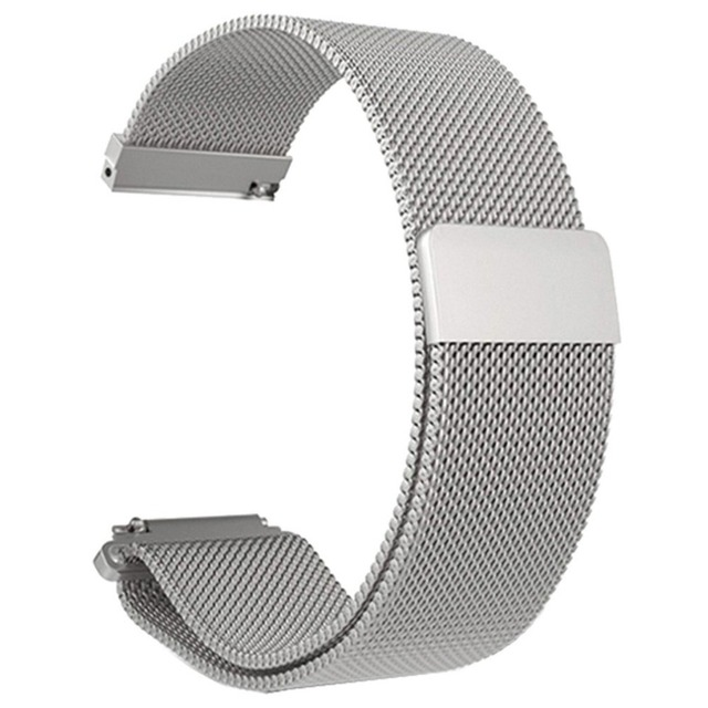 ONLENY Stainless Steel Mesh Bracelet Smart Watch Band Strap Amazfit Bip Youth Watch