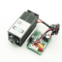 High power 450nm 2.5w Focusable blue laser module laser engraving and cutting TTL module 2500mw laser tube+googles