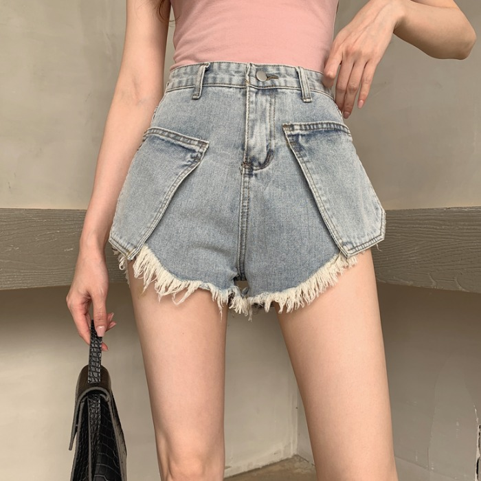 Cheap wholesale 2019 new Spring Summer Autumn Hot selling women's fashion casual <font><b>sexy</b></font> <font><b>shorts</b></font> outerwear MP514 image