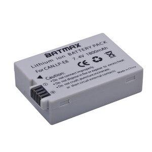 Image 5 - Аккумулятор для камеры LPE8 LP E8, 1800 мАч, 4 шт., зарядное устройство с двойным жк дисплеем и USB для Canon EOS 550D 600D 650D 700D Rebel X4 X5 X6i X7 2i T3i