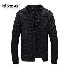 Heißer Verkauf Dünne dünne Männer Jacke 2016 frühling Herbst winter Mode Kleidung von hochwertigem baumwollgewebe Jacken reißverschluss