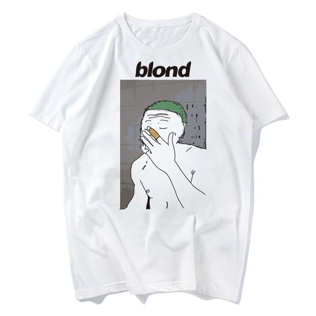 0f804ecb Frank Ocean Blonde T Shirt Boys Don't Cry Concert Nights Tour Print Casua  Print for Men Solid Color t shirt men 2018 s-xxxl