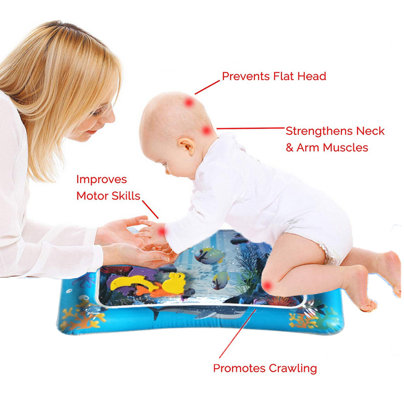 HTB15eVJNbrpK1RjSZTEq6AWAVXas Baby Inflatable Patted Pad Multifunction Water Play Mat Creative Toddler Activity Sensory Stimulation Cushion Crawling Kids Toy