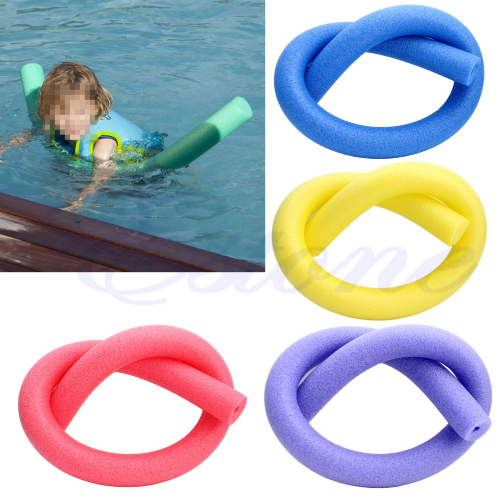 Rehabilitation Learn Swimming Pool Noodle Water Float Aid Woggle Swim
