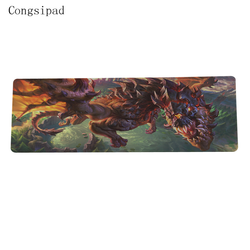 Laser mouse tablet pad wholesale League of Legends large game mouse pad pad cloth thickening stitching precision 30x80cm size