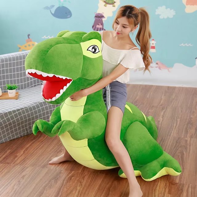 2018 Large Simulated Animal Tyrannosaurus Rex Plush Toy Stuffed