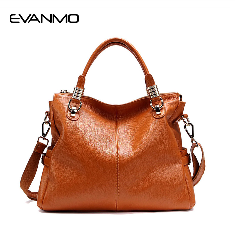 Winter Limited Edition First Layer of Leather Bag Classic Style Genuine Leather Handbags Large Capacity Leisure Women Tote Bags цена