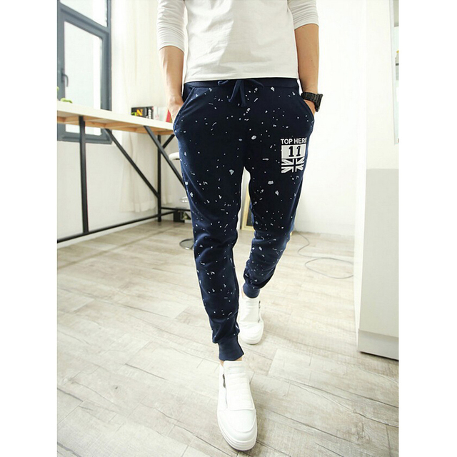 2017 New Arrival High quality Brand men sweat pants cotton  trousers Casual Men pants men's Joggers pants