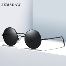 JEMSDAW 2019 New Classic Fashion Mens Retro Polarized Circle Sunglasses and Womens Brilliant UV400