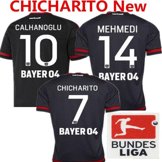 2015 Bayer 04 Leverkusen fútbol Jersey CHICHARITO hernández Marco ...