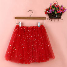 2019 New Womens Summer Pleated Gauze Short Skirt Adult Tutu Dancing Skirts Hot Sale Spudnice Damskie#BZ(China)