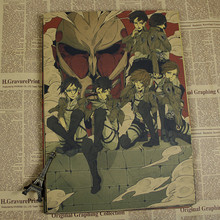Attack on Titan wall Poster